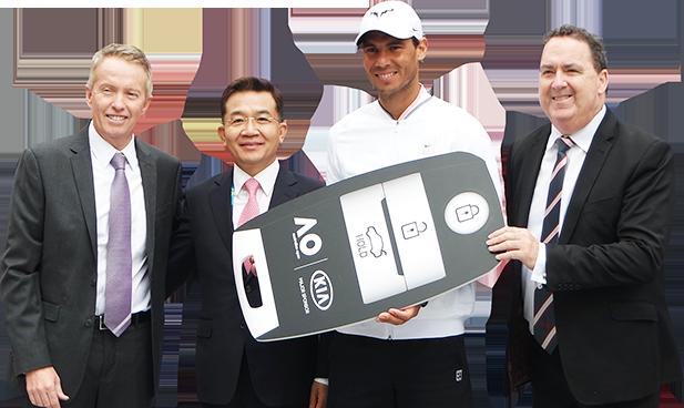 Kia Optima Australian Open