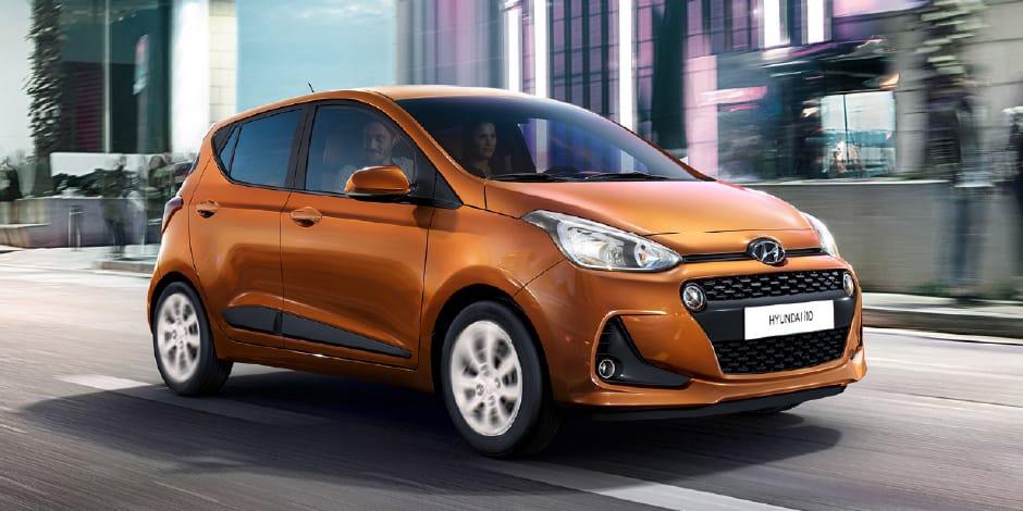 Hyundai i10 sfeerafbeelding