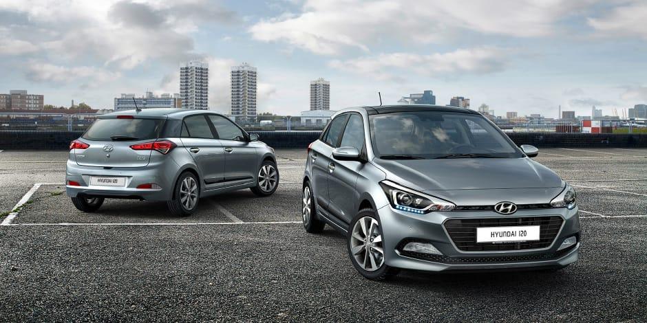 Hyundai i20 sfeerafbeelding