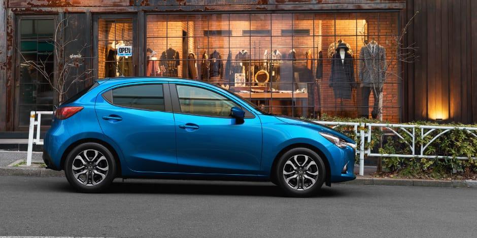Mazda 2 sfeerafbeelding