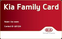 Vraag uw Kia Family Card aan