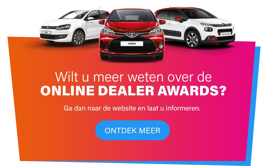 Wilt u meer weten over de Online Dealer Awards - Ontdek meer
