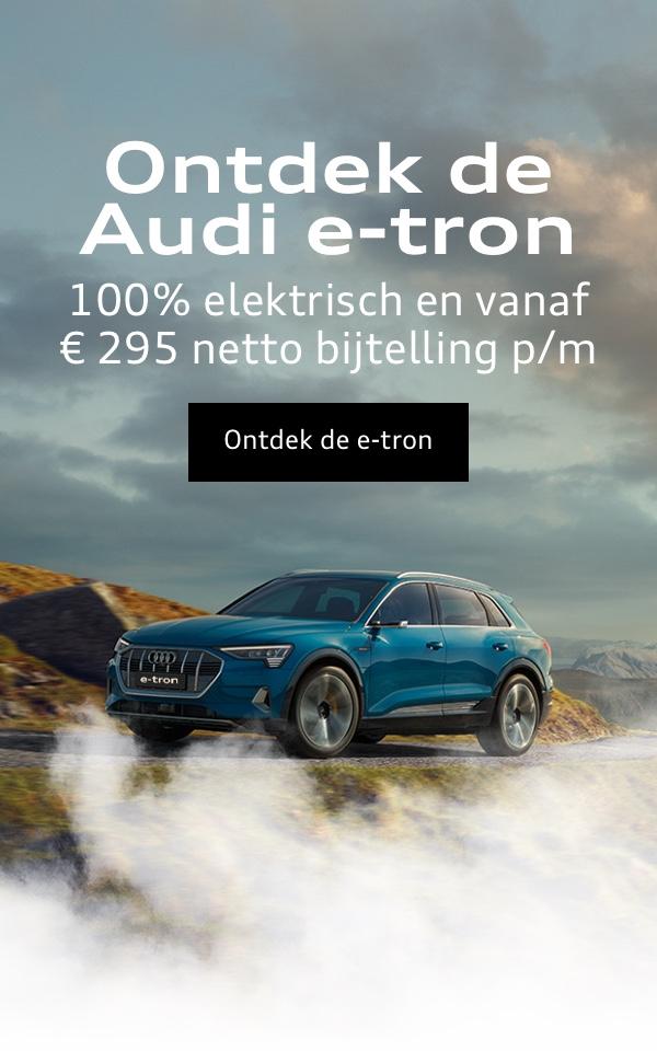 ONTDEK DE AUDI E TRON
