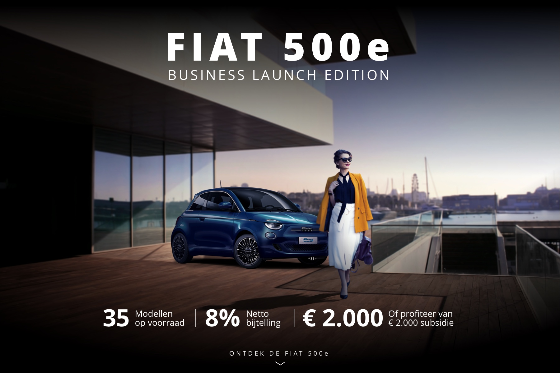 ONTDEK DE FIAT 500e