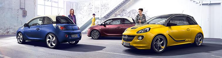 Opel Adam modellen