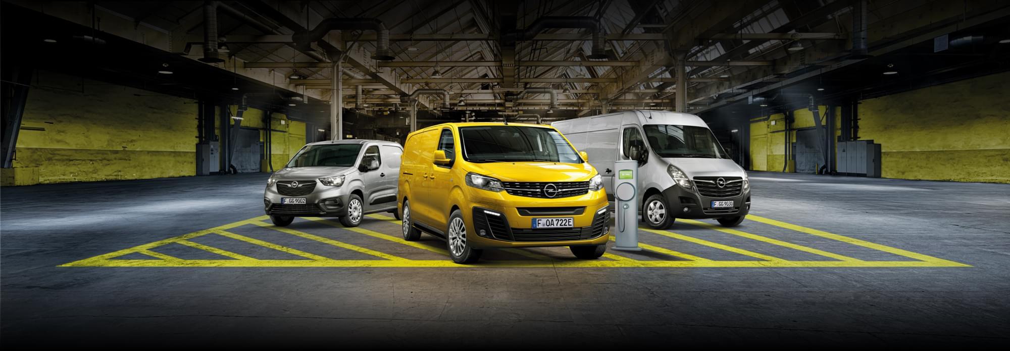 De Nieuwe Opel Bedrijfswagens